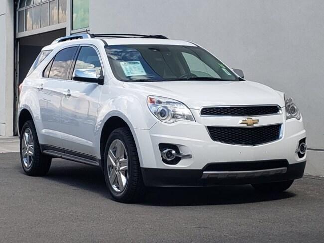used 2015 Chevrolet Equinox LTZ SUV reno