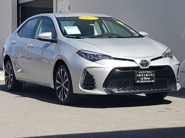 Used Toyota Corolla For Sale >> Used 2017 Toyota Corolla For Sale At Acura Of Reno Vin