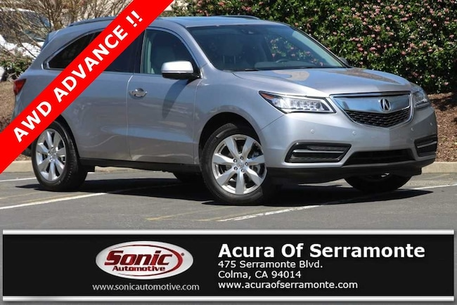 Used 2016 Acura MDX MDX SH-AWD with Advance Package SUV in the Bay Area