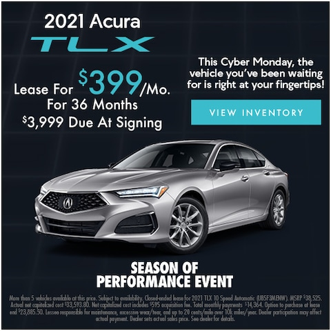 2021 Acura TLX Cyber Monday