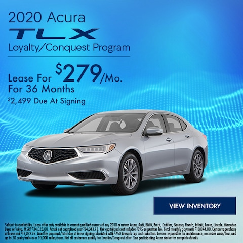 2020 Acura TLX Loyalty/Conquest Program