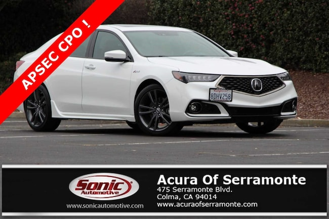 2018 Acura TLX 3.5L Tech & A-Spec Pkgs w/Red Leather Sedan