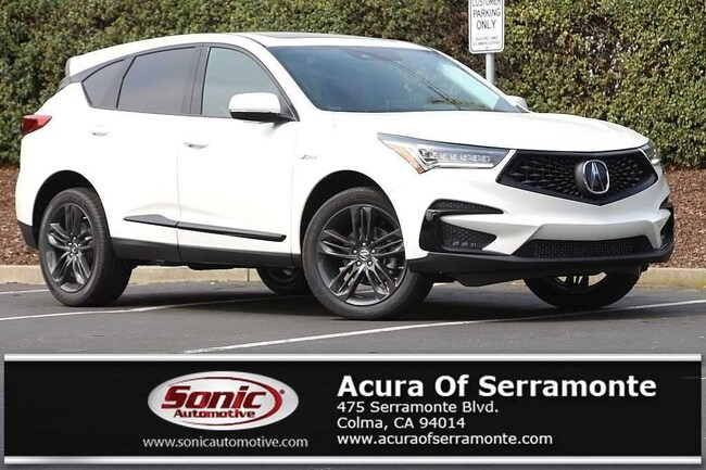 New 2019 Acura RDX with A-Spec Package SUV San Francisco Bay Area