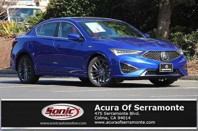 New 2019 Acura ILX with Technology and A-Spec Package Sedan San Francisco Bay Area