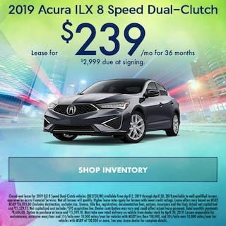 April 2019 Acura ILX 8 Speed Dual-Clutch