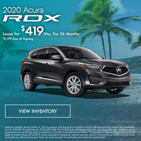 2020 Acura RDX - Lease