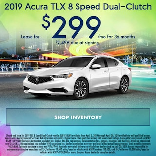 April 2019 Acura TLX 8 Speed Dual-Clutch