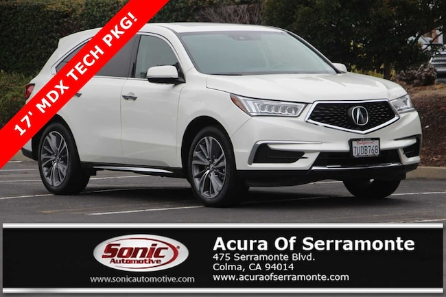 Acura Santa Monica >> Used 2017 Acura Mdx V6 Sh Awd With Technology Package For Sale In Santa Monica Ca Stock Phb001935