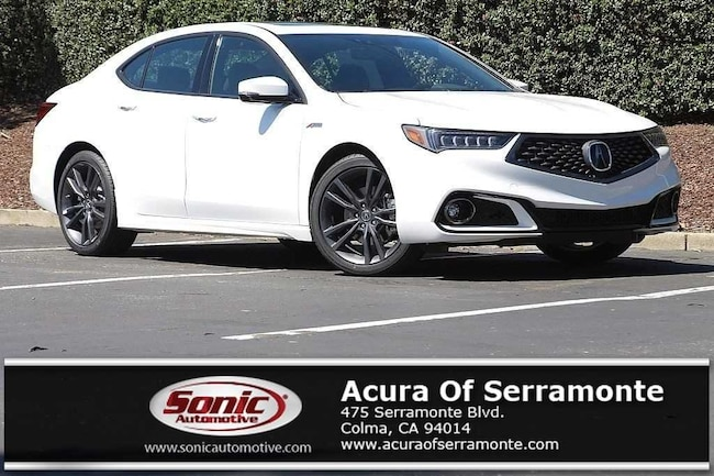 New 2019 Acura TLX 2.4 8-DCT P-AWS with A-SPEC RED Sedan San Francisco Bay Area