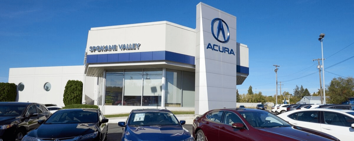 Exterior view of AutoNation Acura Spokane Valley