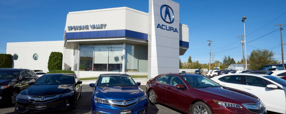 Vista exterior de AutoNation Acura Spokane Valley