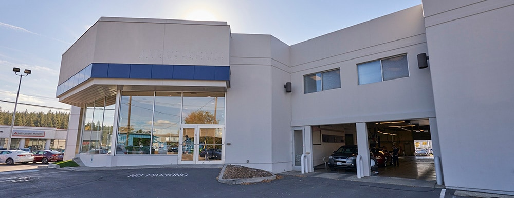 Exterior of AutoNation Acura Spokane Valley Service Center