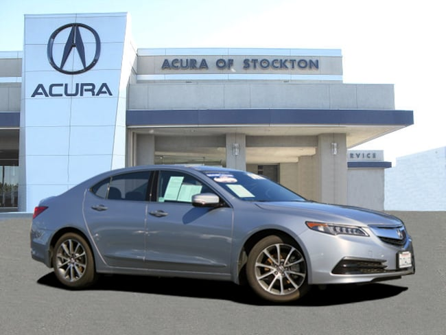 Used 2016 Acura TLX V6 Tech Dealer Loaner Sedan Stockton