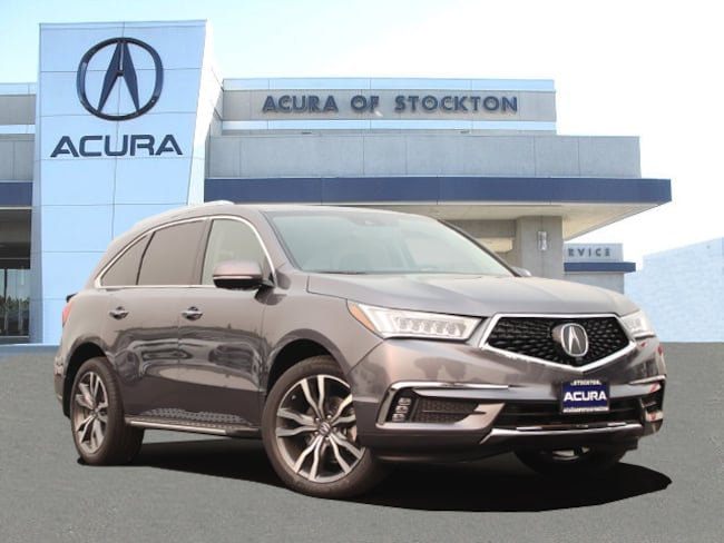 New 2019 Acura MDX with Advance and Entertainment Packages SUV in Stockton, CA