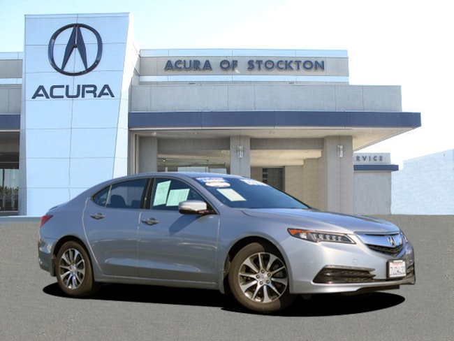 Used 2016 Acura TLX Tech Dealer Loaner Sedan Stockton