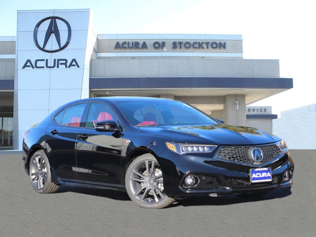 New 2019 Acura TLX 2.4 8-DCT P-AWS with A-SPEC RED Sedan in Stockton, CA