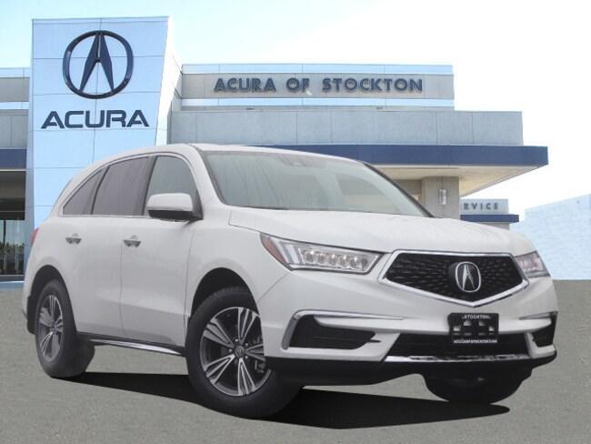 New 2019 Acura MDX Base SUV in Stockton, CA