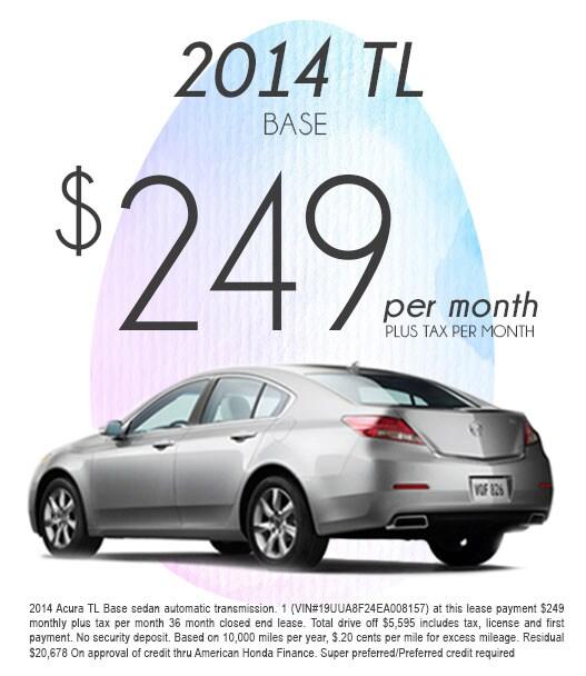 2014 Acura TL Special