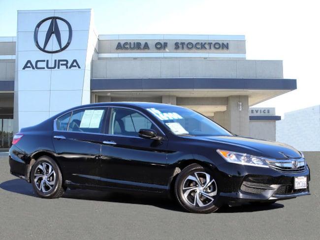 Used 2016 Honda Accord LX Sedan Stockton