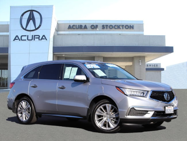 Certified Used 2017 Acura MDX V6 SH-AWD with Technology Package - Dealer Loaner SUV Stockton