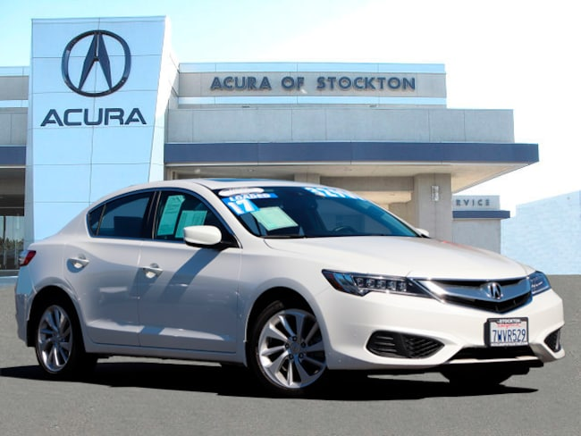 Certified Used 2017 Acura ILX DEALER LOANER Sedan Stockton