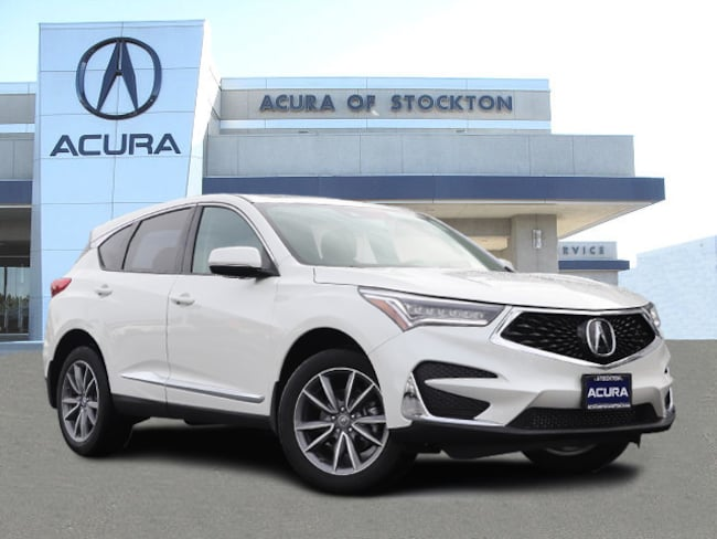 New 2019 Acura RDX with Technology Package SUV in Stockton, CA