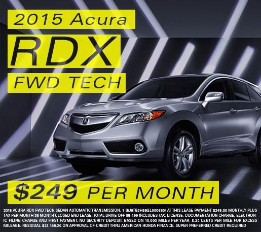 2015 Acura RDX Special In Stockton CA