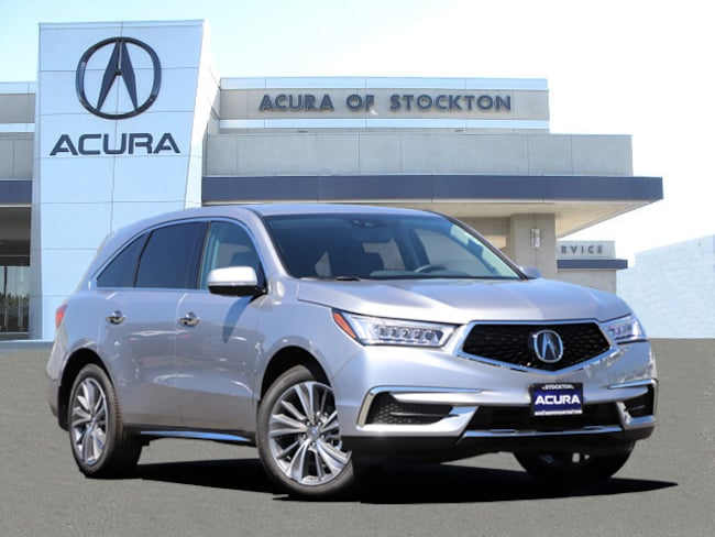 New 2018 Acura MDX SH-AWD with Technology Package SUV in Stockton, CA