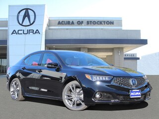 New 2019 Acura TLX 3.5 V-6 9-AT P-AWS with A-SPEC RED Sedan 12998 in Stockton, CA