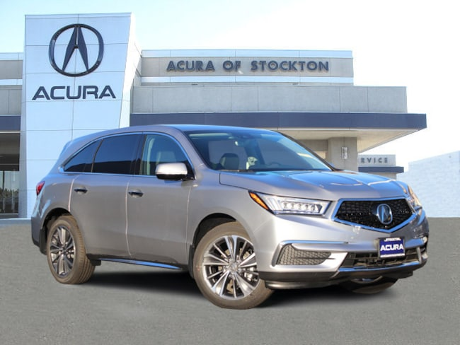 New 2019 Acura MDX with Technology Package SUV in Stockton, CA