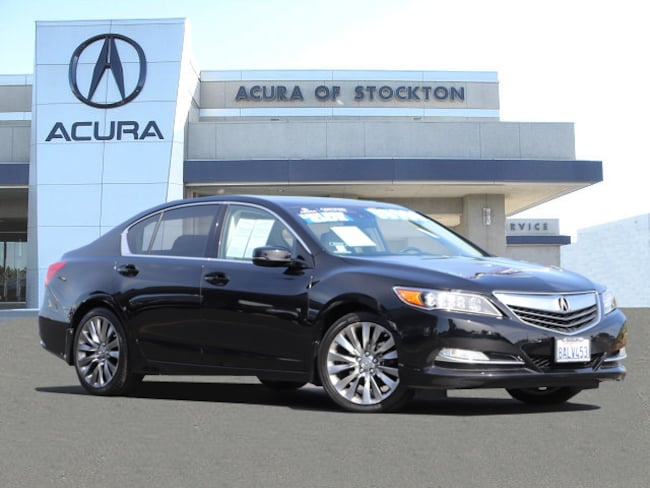 Certified Used 2016 Acura RLX RLX with Technology Package**Dealer Loaner Sedan Stockton