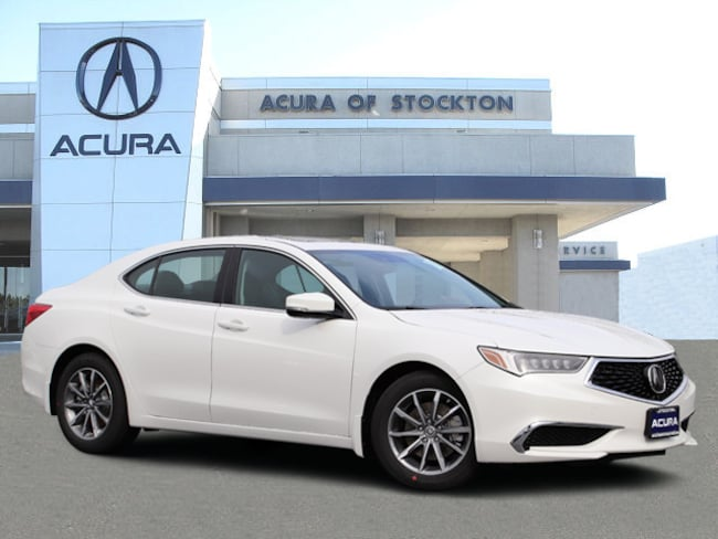 New 2019 Acura TLX 2.4 8-DCT P-AWS with Technology Package Sedan in Stockton, CA