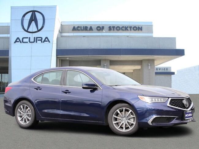 New 2019 Acura TLX 2.4 8-DCT P-AWS Sedan in Stockton, CA