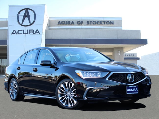 New 2018 Acura RLX with Technology Package Sedan in Stockton, CA