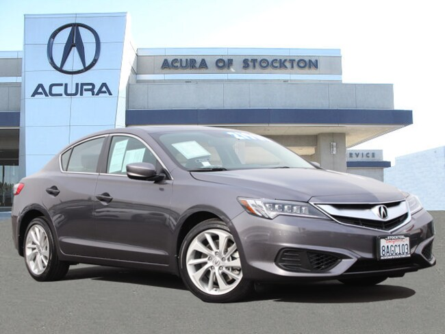 Certified Used 2017 Acura ILX Sedan Stockton