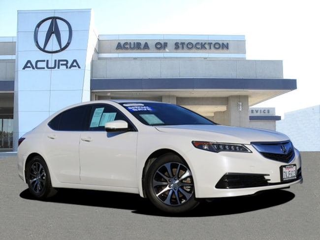 Certified Used 2017 Acura TLX Base Sedan Stockton