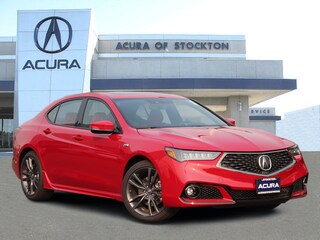 New 2019 Acura TLX 3.5 V-6 9-AT P-AWS with A-SPEC RED Sedan 12937 in Stockton, CA