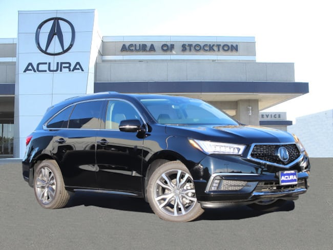 New 2019 Acura MDX SH-AWD with Advance Package SUV in Stockton, CA