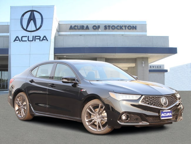 New 2019 Acura TLX 3.5 V-6 9-AT P-AWS with A-SPEC Sedan in Stockton, CA