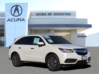Certified 2016 Acura MDX MDX SH-AWD with Technology 5FRYD4H43GB050827 for sale in Stockton, CA at Acura of Stockton