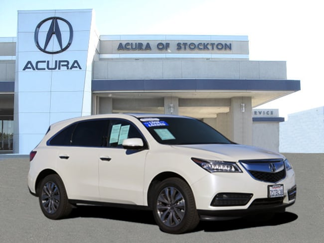 Used 2016 Acura MDX MDX SH-AWD with Technology SUV Stockton