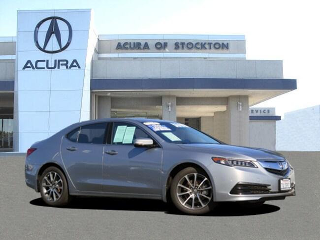 Certified Used 2017 Acura TLX V6 w/Technology Package DEALER LOANER Sedan Stockton