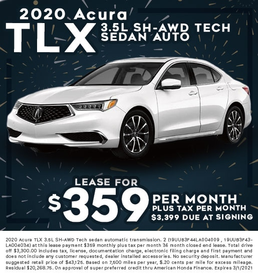 2020 Acura TLX 3.5L SH-AWD Tech Sedan Automatic