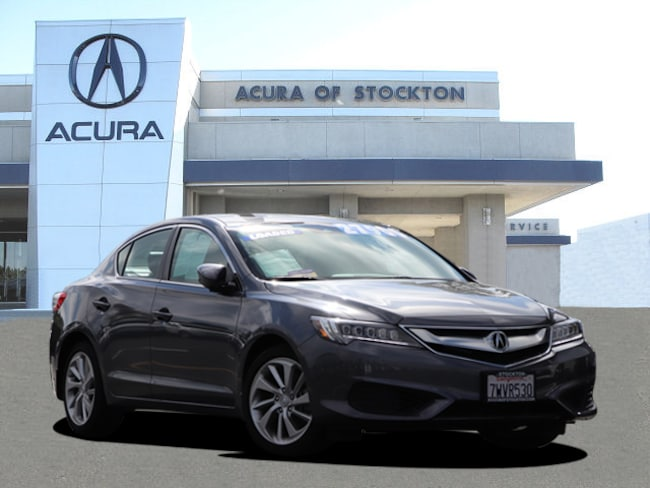 Used 2017 Acura ILX DEALER LOANER Sedan Stockton