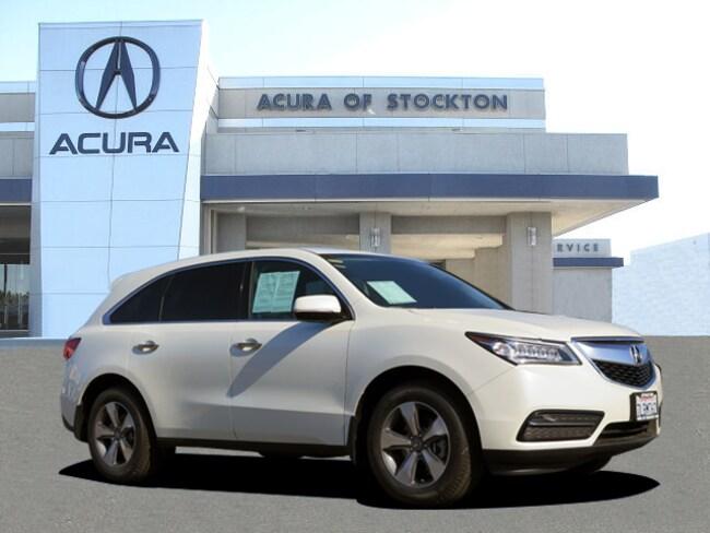 Used 2016 Acura MDX MDX SH-AWD SUV Stockton