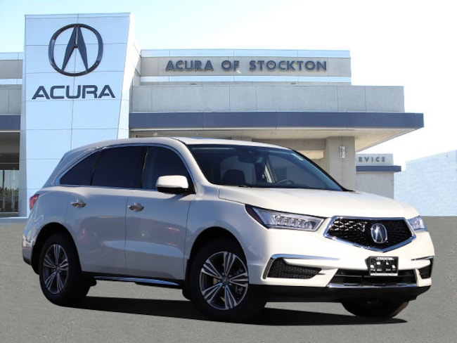 New 2019 Acura MDX SH-AWD SUV in Stockton, CA