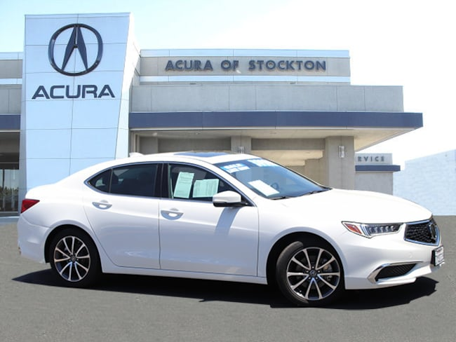 Certified Used 2018 Acura TLX 3.5L Sedan Stockton