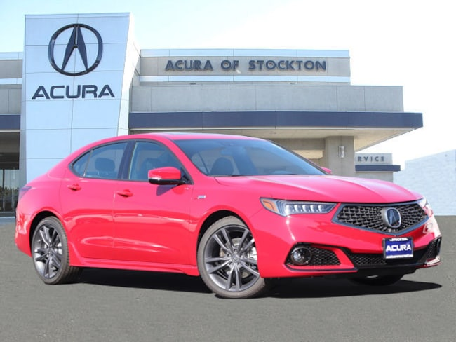 New 2019 Acura TLX 2.4 8-DCT P-AWS with A-SPEC Sedan in Stockton, CA