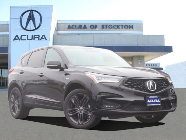 New 2019 Acura RDX with A-Spec Package SUV in Stockton, CA