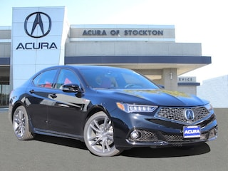New 2019 Acura TLX 3.5 V-6 9-AT P-AWS with A-SPEC RED Sedan 12973 in Stockton, CA